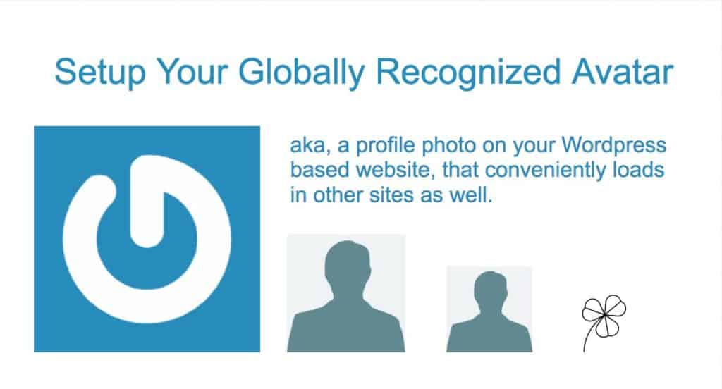 setup your globally recognized avatar